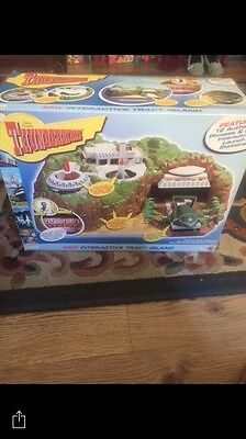 Thunderbirds Tracey Island Interactive 2004 and Extra Toys Look! Working Boxed