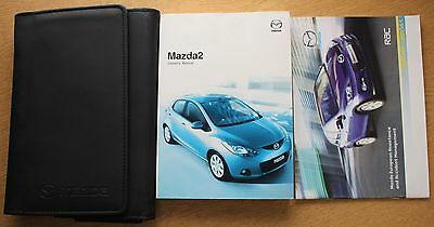 Mazda 2 Handbook Owners Manual Wallet 2007-2010 Pack 10886