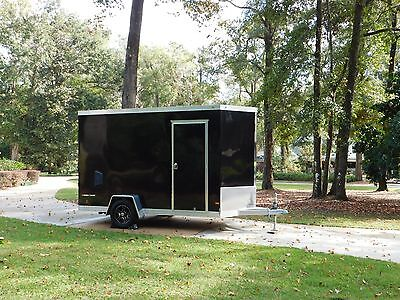 2016 Wells Cargo 6' x12' Silver Sport All Aluminum Enclosed Cargo Trailer w/Ramp