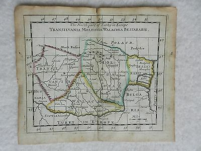 1690 Map Of The Northern Part Of Turkey In Europe