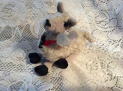 New 1999 Coca-Cola International Collection Laffs Llama Plush Toy #0247 w/ tag
