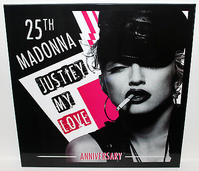 """Madonna - Justify My Love - 25Th Anniversary - 12"""" Picture Disc + Sleeve - 2016"""