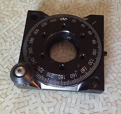 """Newport RSP-1 Rotation Stage / Rotary Mount 1"""" Aperture"""
