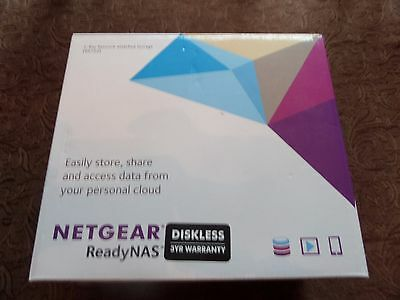 NetGear 2 bay Network Attached Storage (RN102) with 1TB hard drive installed