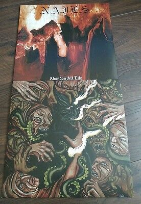 nails you will never be one of us , abandon all life grindcore death metal vinyl