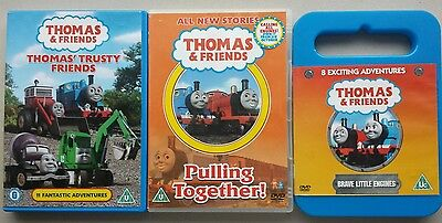 Thomas & Friends Bundle 7 items DVD Book Sopngbook Game PC