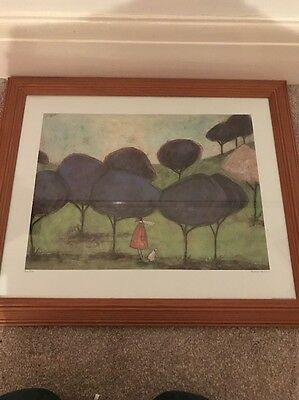 Sam Toft Print In Frame (sniffing The Lilac)