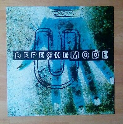 "DEPECHE MODE -Promotional 12"" x 12"" Card (Flat)  U (ideal for framing)"