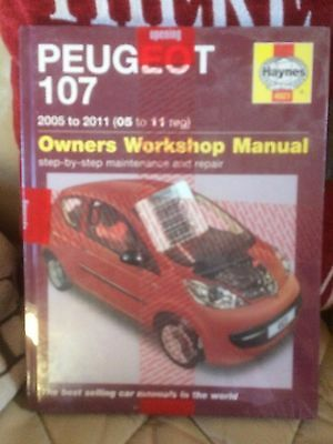 Haynes Manual Peugeot 307,  2005 To 2011. Petrol. Brand New