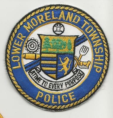 Lower Moreland Township PENNSYLVANIA PA Police patch