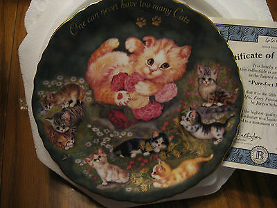 cats collector plate