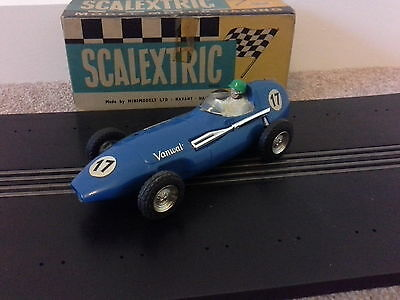 Vanwall F1 MM/C55 Tri-ang Scalextric Slot Car  with original box