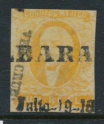 1856 Mexico stamps, USED , SCOTT # 2