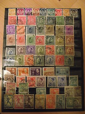 Page stamps, early Yugoslavia..mint & hinged,used.good lot.20.11