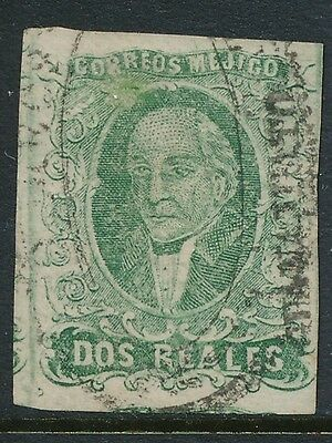 1856 Mexico stamps, USED , SCOTT # 3a