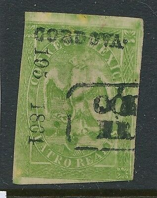 1864-1865 Mexico stamps, USED ,  SCOTT # 24a