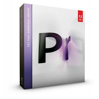 ADOBE Premiere Pro CS5 update from Prem. Elements (French New Other