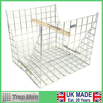 CLAM LARSEN MATE Magpie Trap zinc plated unused UK made by The TrapMan
