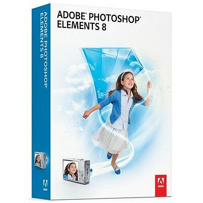 ADOBE Photoshop Elements v8 Mac/FR 65045080 New Other