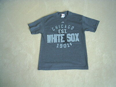 Chicago White Sox Official Majestic Baseball Tee Leisure Shirt Mint (M) Rare
