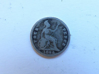 Great Britain Victoria Four-pence (or groat) 1844