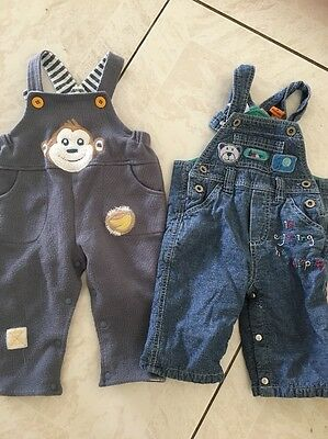 Crawling Pants Bulk Of 6 For Baby Boy Size 6-12 Months Size 0