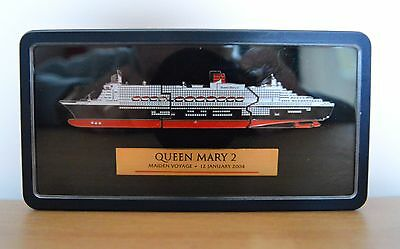 Maiden Cruise of Queen Mary collectable enamelled pin