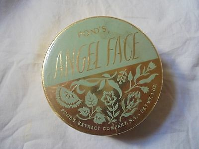 Vintage Pond's Angel Face Compact Angel Powder & Foundation In-One Make-up case