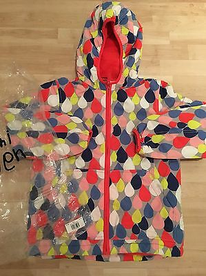 ***MINI BODEN*** BNIB girls raindrops fleece lined coat jacket age 11-12 years