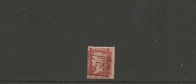 GREAT BRITAIN =  1d red ~ 159 cancel ~ see scan [#121] victoria