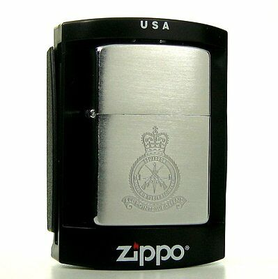 RAF 16 Sqdn. Vintage Royal Air Force Regiment Zippo : 1984 : Unfired Condition