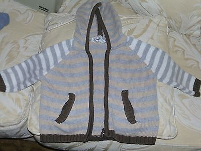 Long sleeved tops age 3-6 months