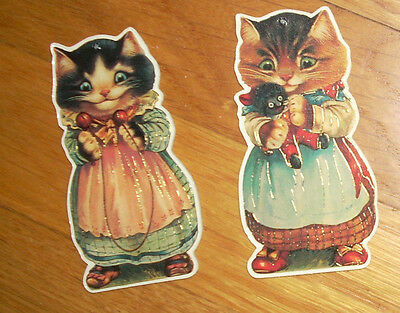 CATS Darling VINTAGE Victorian Dress CHRISTMAS GIFT DECOR Pet ORNAMENT .99