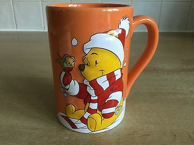 Disney Store Exclusive Christmas 3D Pooh Mug