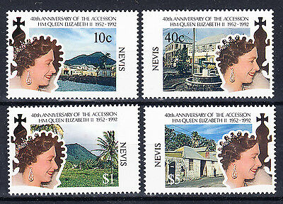 Nevis 1992 40th anniversary of the Queen's accession NHM
