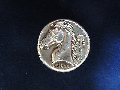 Sicily-Entella, AR Tetradrachm, c.336-323 BC, Punic Issues