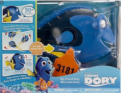 Disney Finding Nemo Dory My Friend Dory Kids Talking Action Figure Toy RRP£49.99