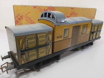 French Jep O Gauge NORD Baggage Wagon (Boxed)