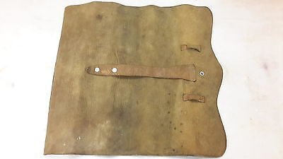 Antique Old Leather Map Holder  Early Pat June 11 1889