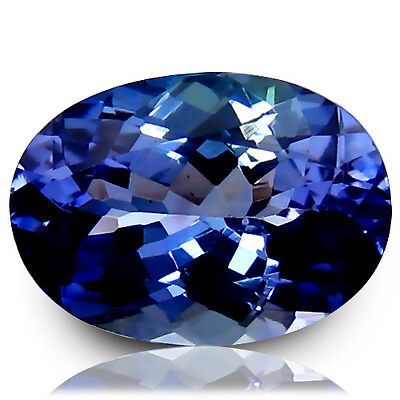 Gorgeous Oval Tanzanite - Loose Stone -  Lab Created - 5+ Carats- Beautiful !!