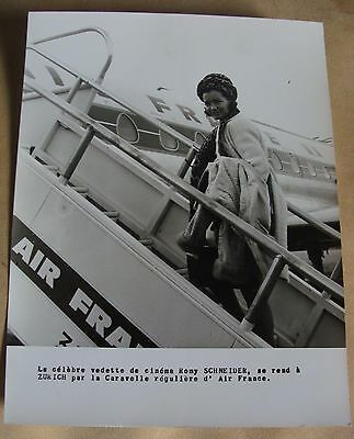 "photo Air-France "" Romy Schneider """