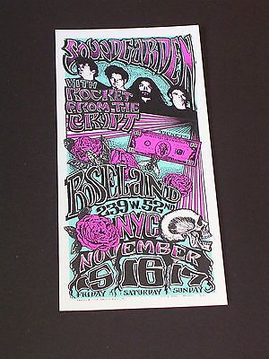 SOUNDGARDEN & ROCKET FROM THE CRYPT Psychedelic Postcard by MARK ARMINSKI