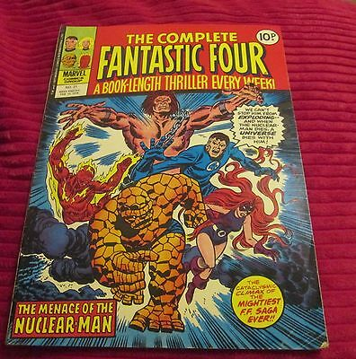 FANTASTIC FOUR MARVEL COMIC   no 21 + FEBRUARY 15 1978    V.G.  CONDITION