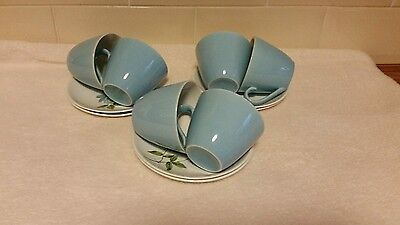 Vintage Johnson Bros Coffee Cups and Saucers