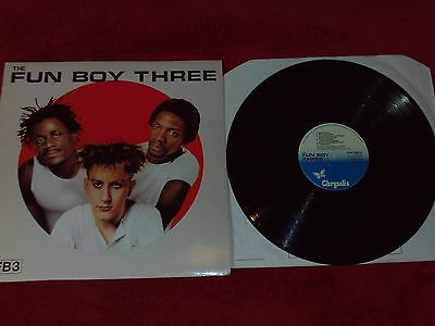The Fun Boy Three - FB3 - vinyl LP - complete with poster