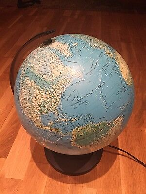 Scanglobe Globe Light Up Type X Made In Denmark 14 inch tall , 36 cm