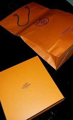 hermes empty  box +carrier bag