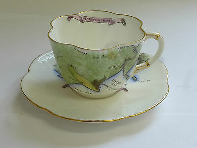Foley China Dainty 272101 Cup Saucer Weston-Super-Mare Uphill Hutton Bleadon