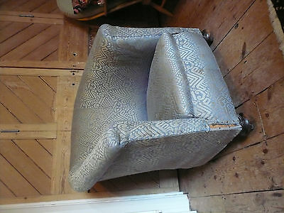 Vintage Upholstered Tub Chair 1930's