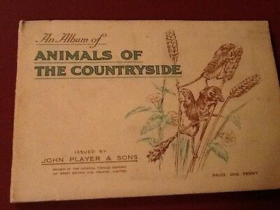 Cigarette cards, Complete Album Animals Of The Countryside